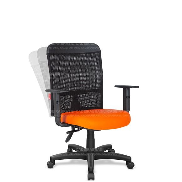 Cadeira Escritório Ergonômica Giratória Gerente Tela MNG01 Mensa
