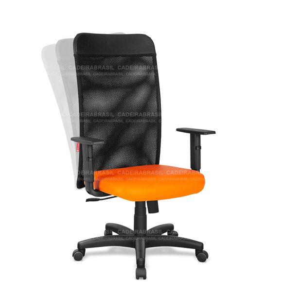 Cadeira Escritório Presidente Giratória Tela MNP01 Mensa