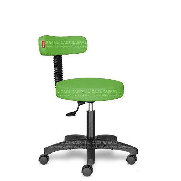 Mocho Estética Fisioterapia Odontologia Verde Limão CB1534 Sintético Saldão