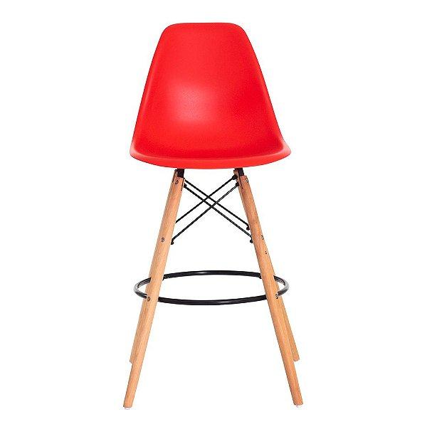 Banqueta Alta Fixa Design Amaze Cadeira Brasil