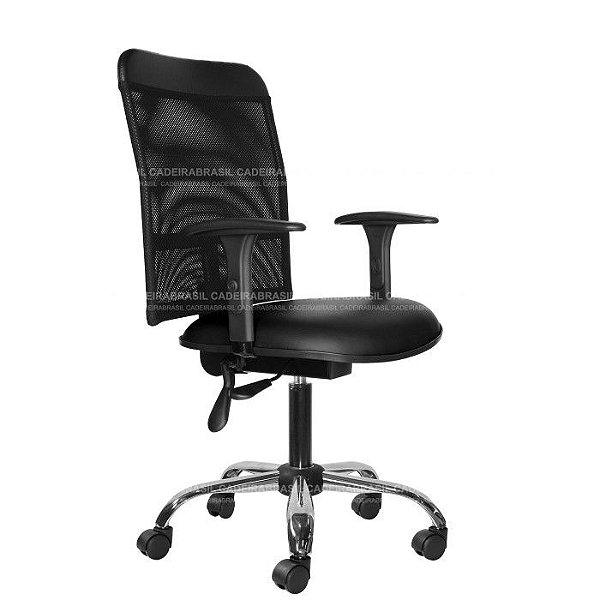 Cadeira Ergonômica Executiva New Tela CB 2018 Cadeira Brasil