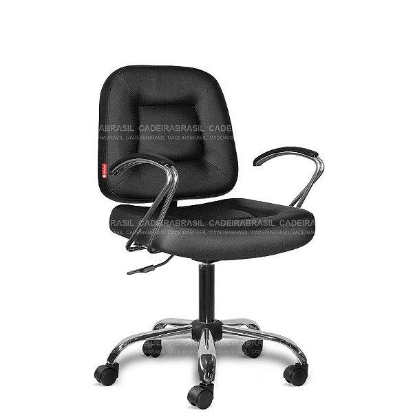 Cadeira Escritório Executiva Siena CB 1477 Braços Curvo Cadeira Brasil