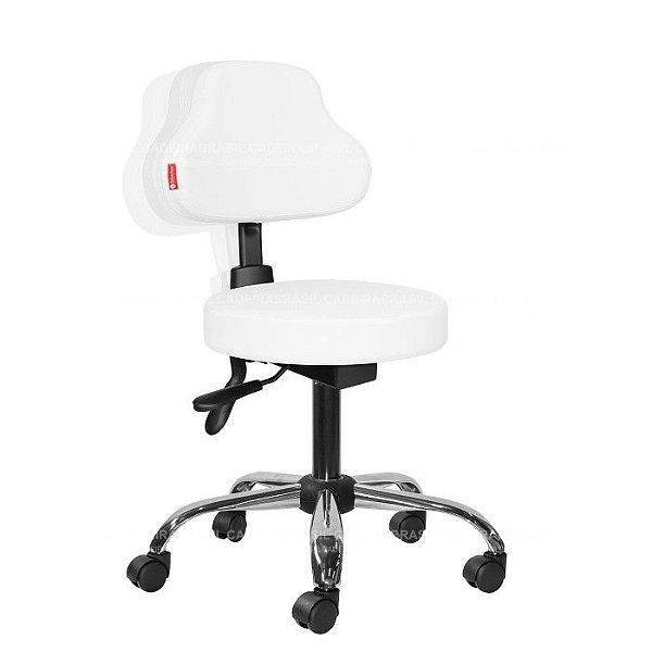 Cadeira Mocho Estética, Fisioterapia, Odontologia Plus Ergonômico Cadeira Brasil CB 1584