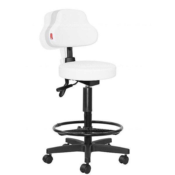 Cadeira Mocho Alto Estética, Fisioterapia, Odontologia Plus Ergonômico Cadeira Brasil CB 1594