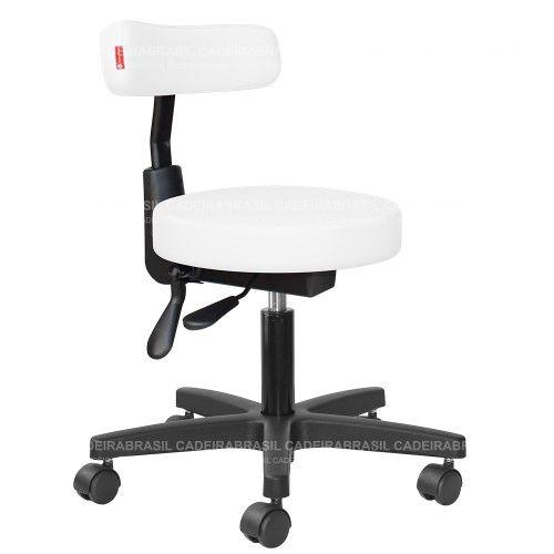 Cadeira Mocho Estética, Fisioterapia, Odontologia Slim Ergonômico Cadeira Brasil CB 1540