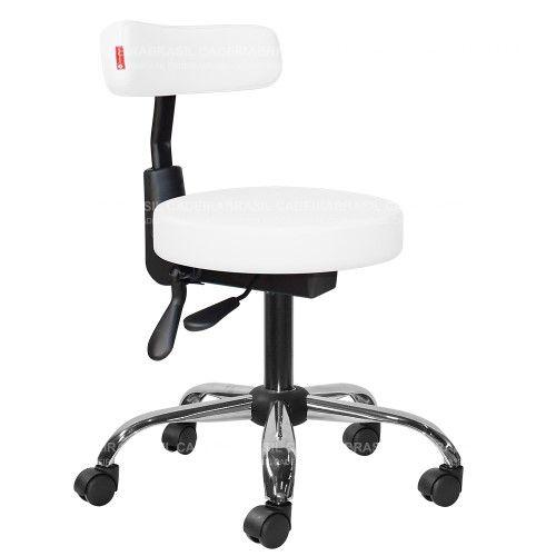 Cadeira Mocho Estética, Fisioterapia, Odontologia Slim Ergonômico Cadeira Brasil CB 1532