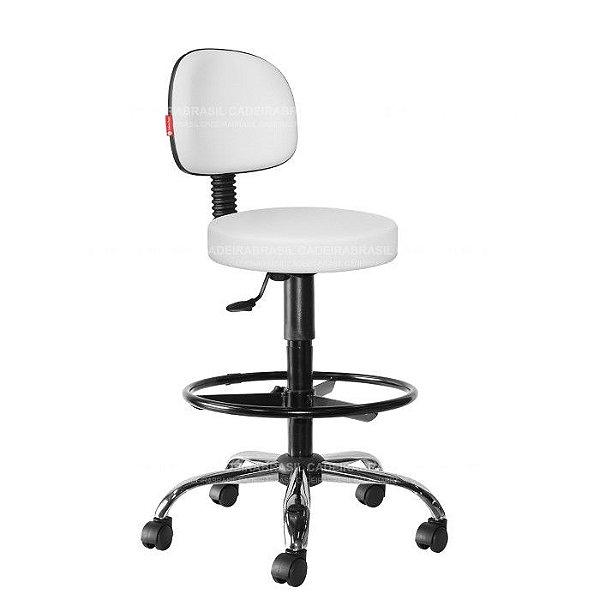Cadeira Mocho Alto Estética, Fisioterapia, Odontologia Secretária Cadeira Brasil CB 1632