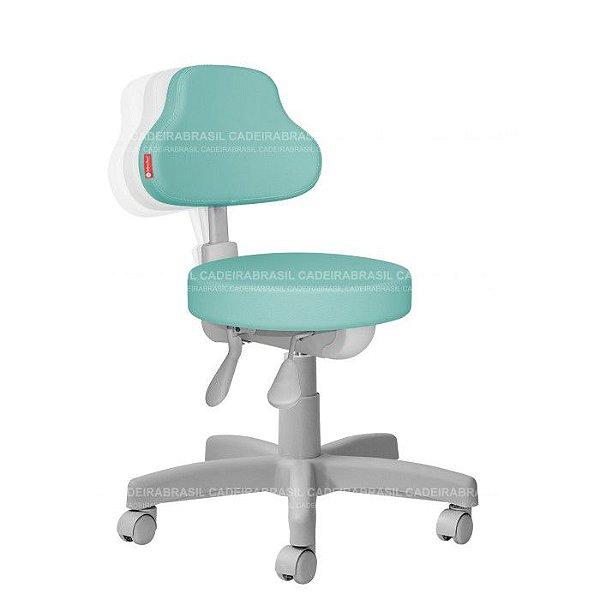 Cadeira Mocho Estética, Fisioterapia, Odontologia Plus Premium Ergonômico Cadeira Brasil CB 1547