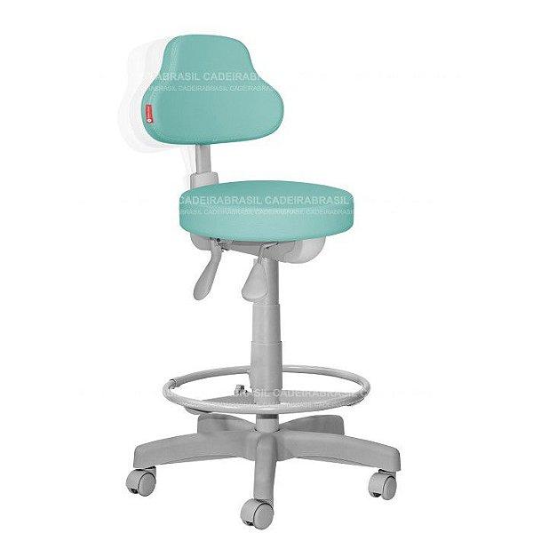 Cadeira Mocho Alto Estética, Fisioterapia, Odontologia Plus Premium Ergonômico Cadeira Brasil CB 1549