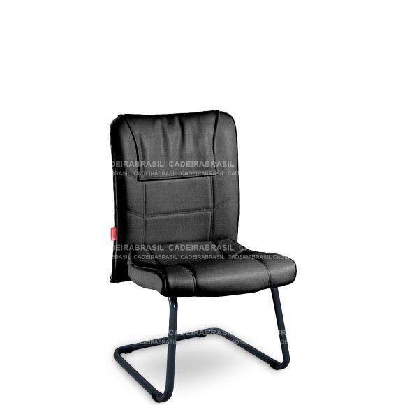 Cadeira Diretor Fixa Interlocutor Atendimento Frari FAD03