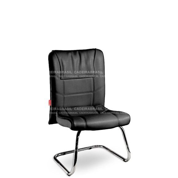 Cadeira Diretor Fixa Interlocutor Atendimento Frari FAD53