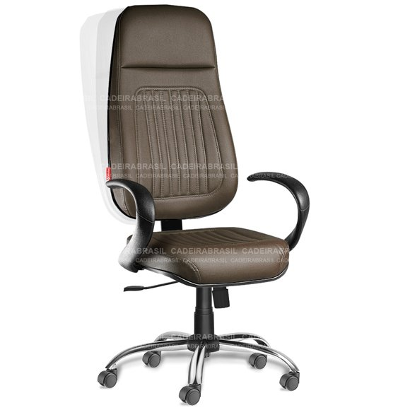 Cadeira Presidente Extra Giratória Milão MLP51 Cadeira Brasil