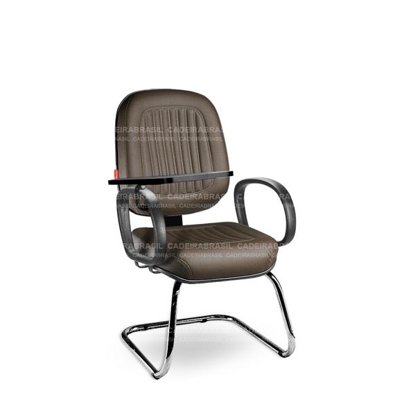 Cadeira Universitária Diretor Milão MLD56 Prancheta Escamoteável Cadeira Brasil