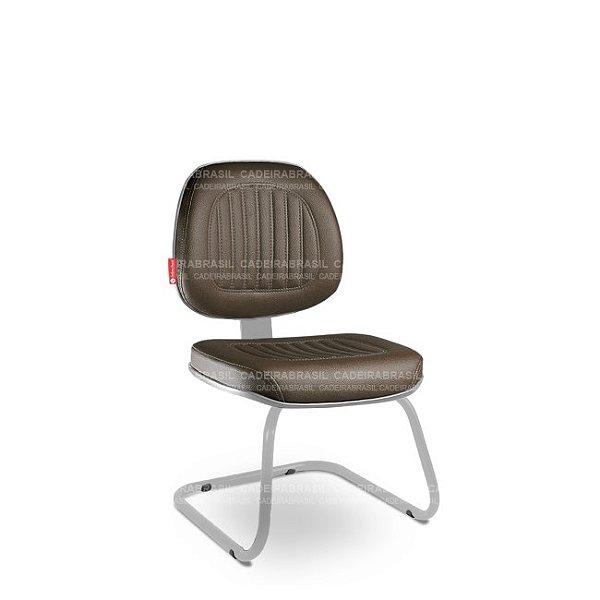 Cadeira Fixa Executiva Milão MLE89 Cadeira Brasil