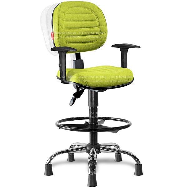 Cadeira Caixa Ergonômica Executiva Lacerta LCE53 Cadeira Brasil