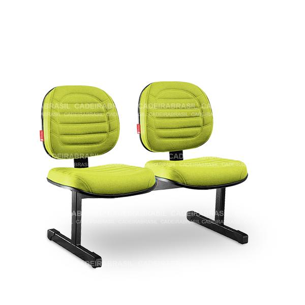 Longarina 2 Lugares Executiva Lacerta LCE13 Cadeira Brasil