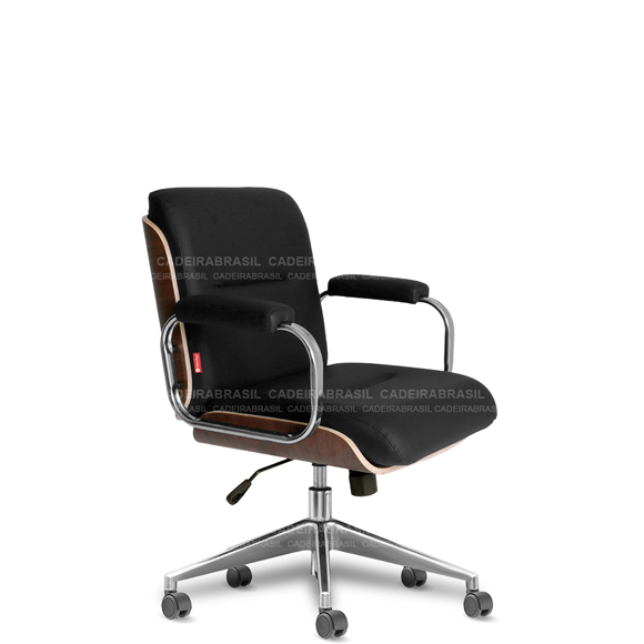 Cadeira Diretor Giratória Wooden WDD51 Cadeira Brasil