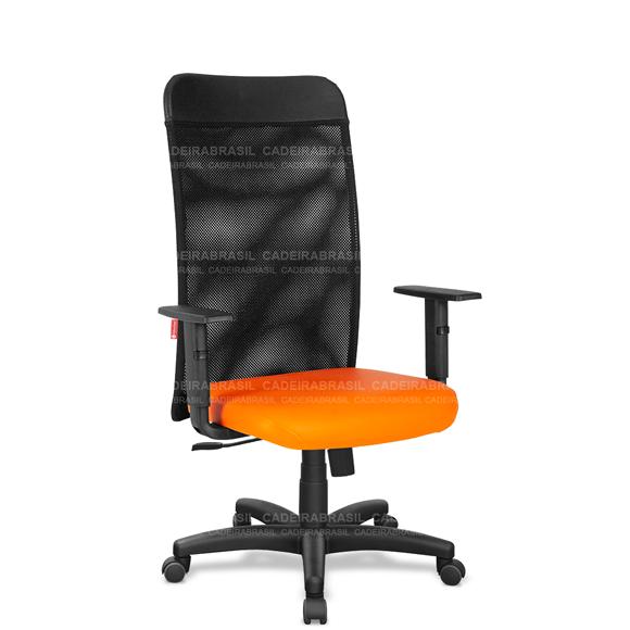Cadeira Escritório Presidente Giratória Tela MNP02 Mensa