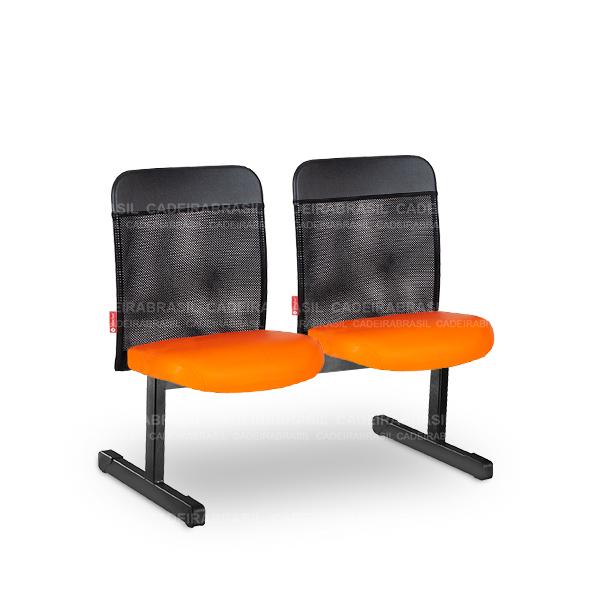Longarina 2 Lugares Executiva Mensa MNS13 Cadeira Brasil