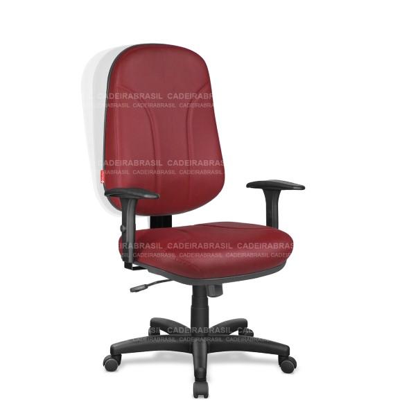 Cadeira Presidente Giratória Operativa OPP02 Cadeira Brasil