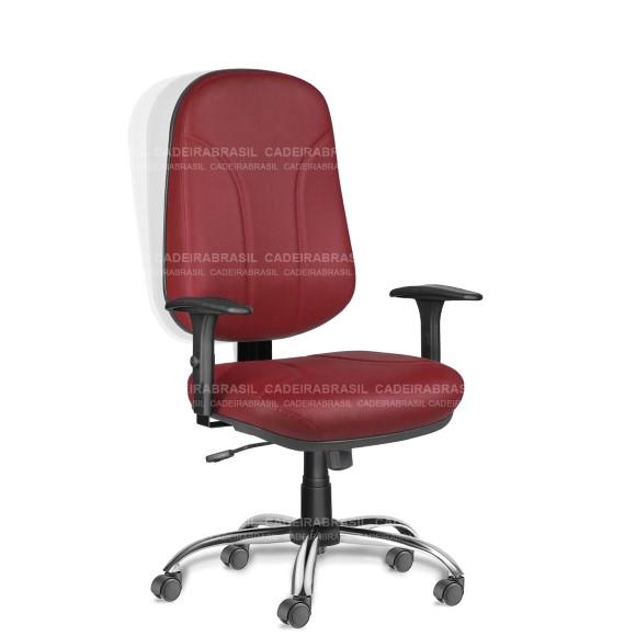 Cadeira Presidente Giratória Operativa OPP52 Cadeira Brasil