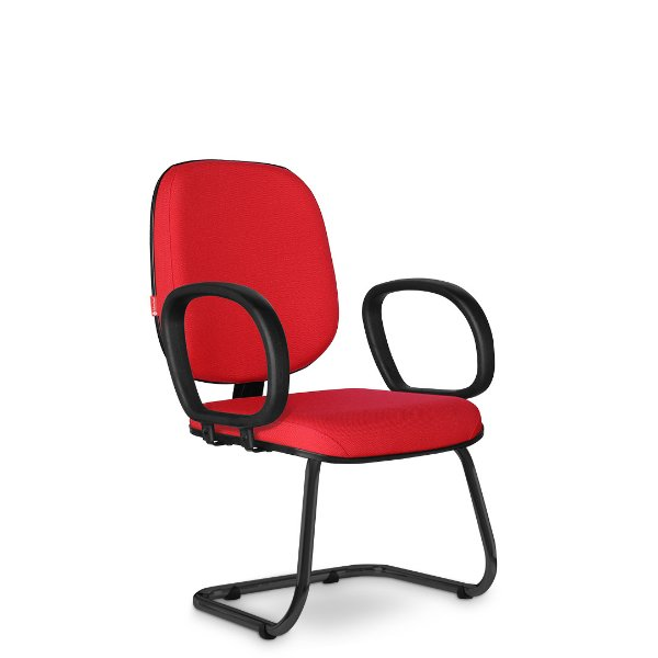 Cadeira Diretor Fixa Basic BAD03 Cadeira Brasil