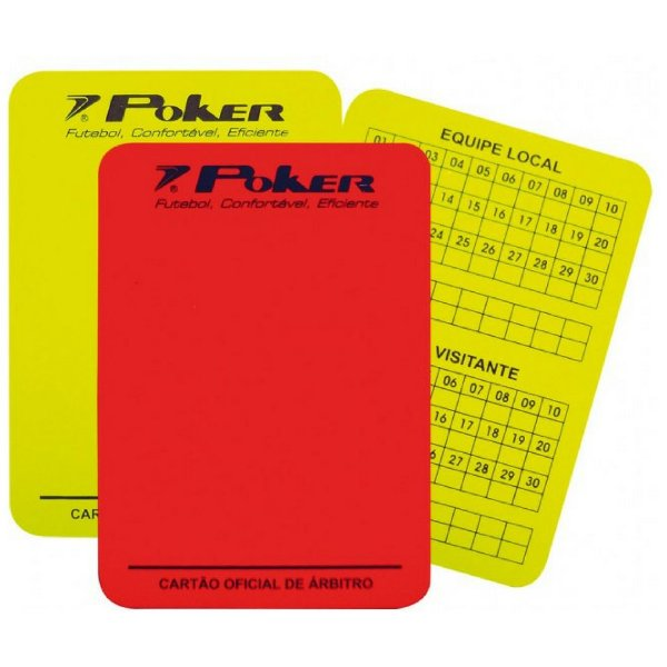 Cartão Arbitragem Oficial  Poker