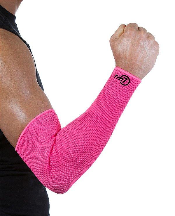 Protetor De Antebraço Longo Para Voleibol BRAC7 Rosa