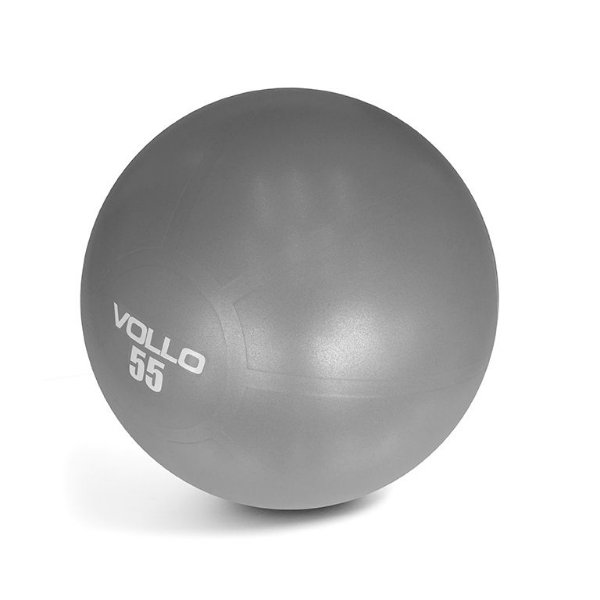 Bola Pilates Gym Ball Vollo Com Bomba 55cm