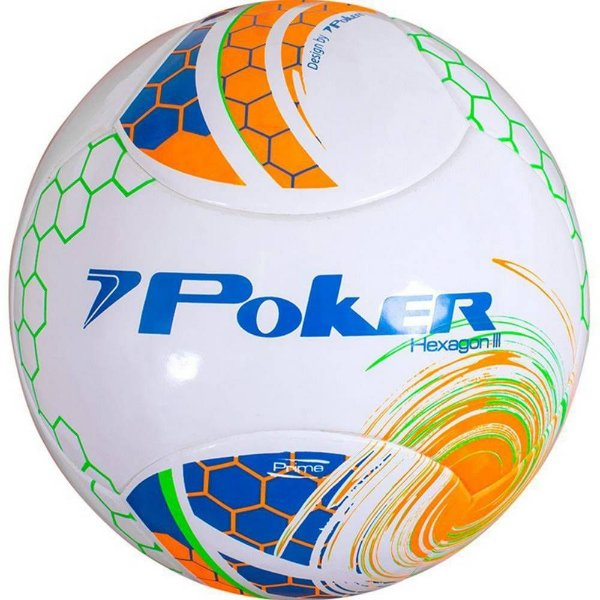 Bola Futebol Poker Hexagon III Prime