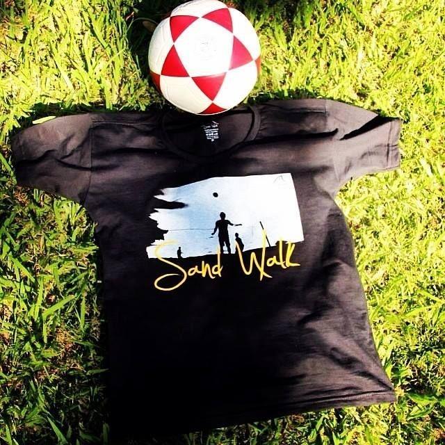 Camisa Futevôlei  Sand Walk Preto