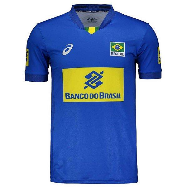Camisa Vôlei Asics Brasil Vôlei CBV