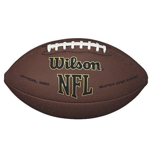 Bola Futebol Americano Wilson Super Grip Nfl  laranja