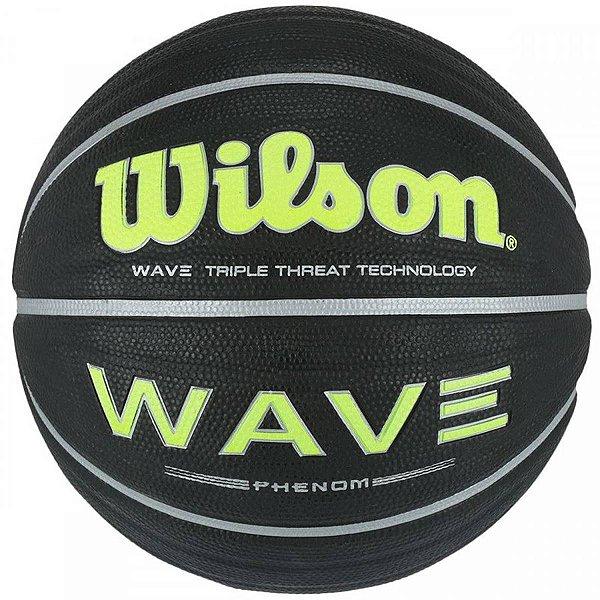 Bola Basquete Wilson Wave Phenom Preto