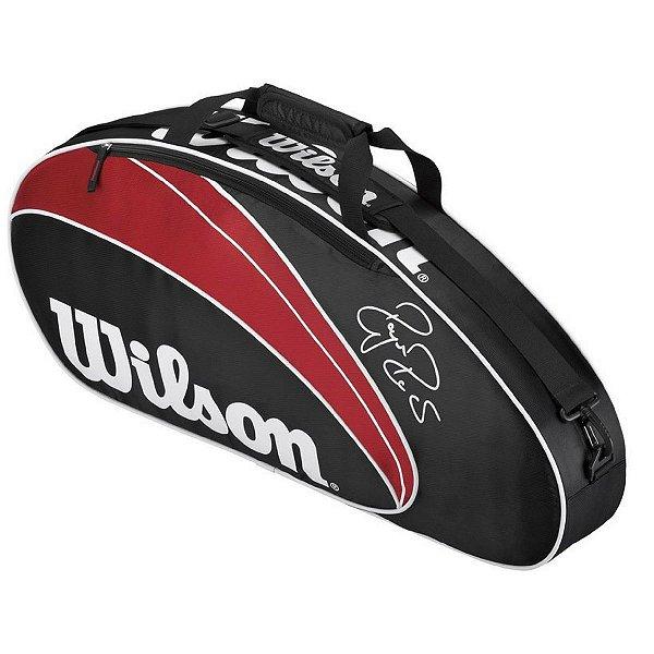 Raqueteira Bolsa Esp Wilson Federer 3 Pack