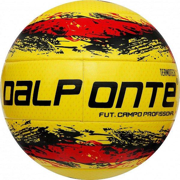 Bola Futebol Campo Dalponte Termotech 10 Amarelo