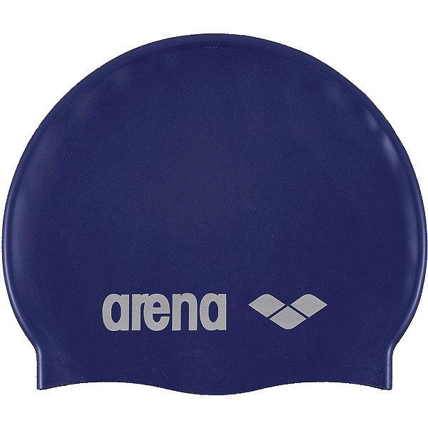 Touca Arena Classic Silicone Azul