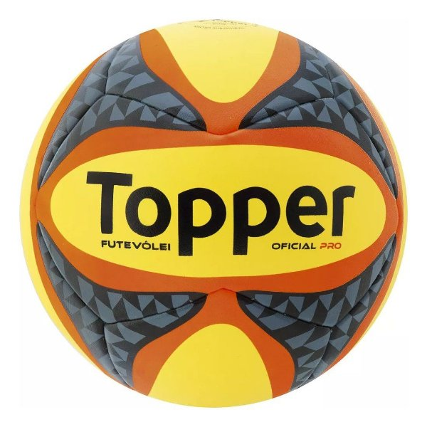 Bola Futevôlei Topper Pro - ShopSam - Artigos Esportivos  467e40cbcdc17