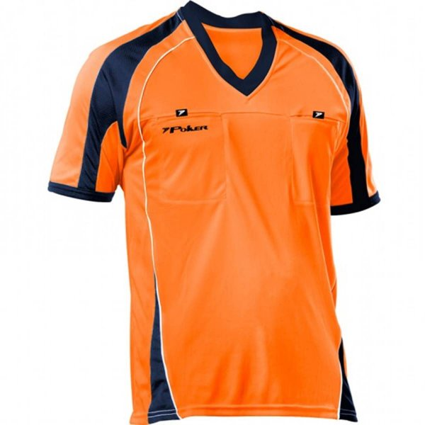 Camisa Árbitro Poker PKR V Laranja