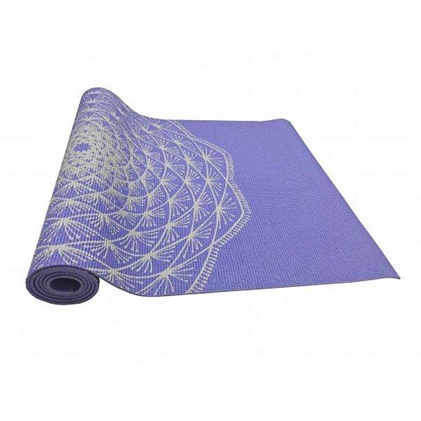 Tapete Yoga Pvc Eco Hopumanu Azul