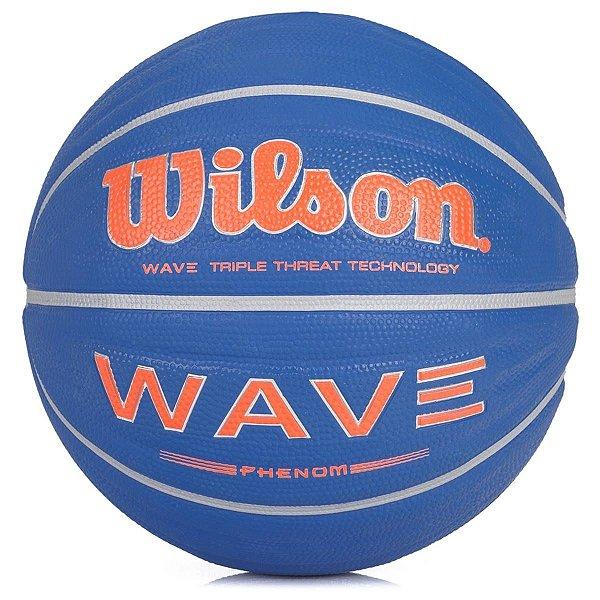 Bola Basquete Wilson Wave Phenom Azul
