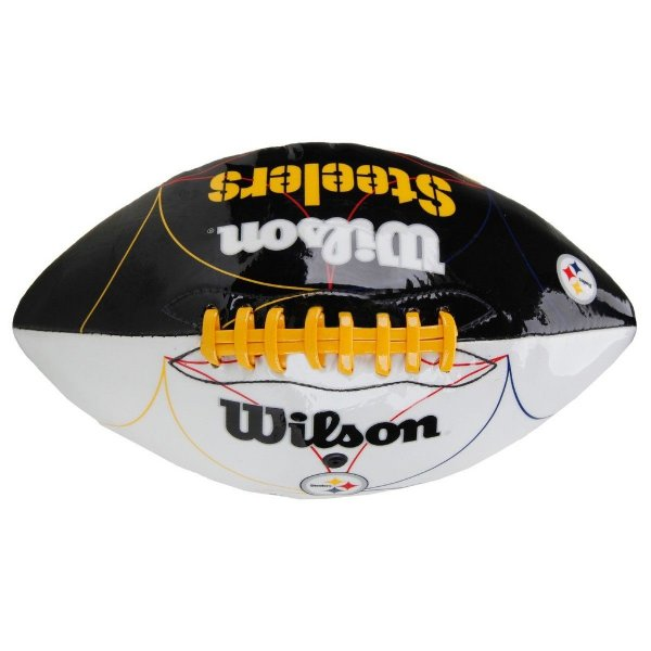 Bola de Futebol Americano Wilson Pittsburgh Steelers Jr