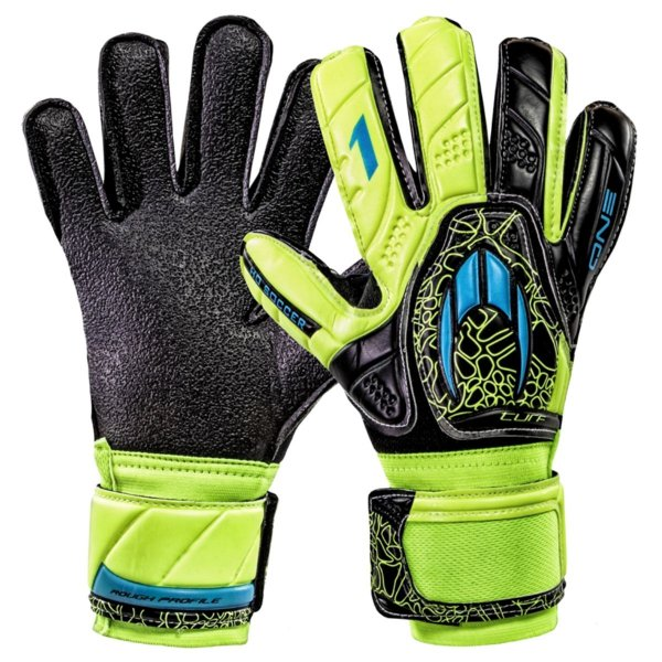 Luva Goleiro Ho Soccer One Flat Turf Power Lime