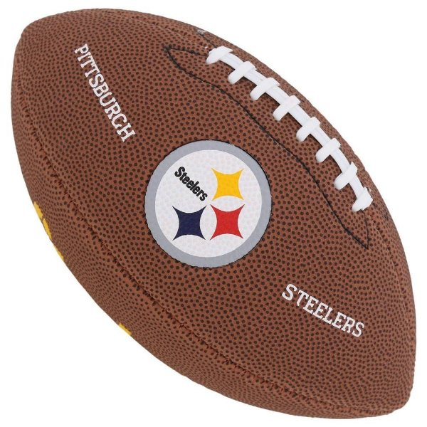 Bola Futebol Americano Wilson Pittsburgh Steelers JR