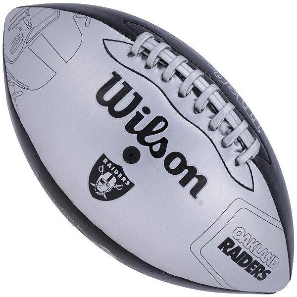 Bola de Futebol Americano Wilson Oakland Raiders Jr