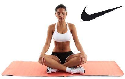 Tapete Profissional Yoga Pilates Nike Yogirl