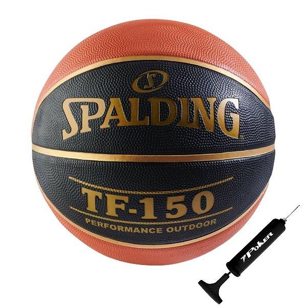Bola Basquete Spalding Tf 150 Cbb Com Bomba