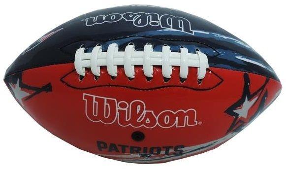 Bola Futebol Americano Wilson New England Patriots JR Pvc