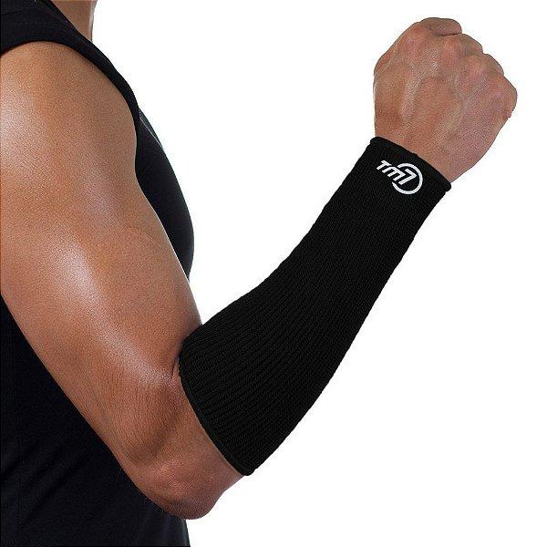 Protetor De Antebraço Para Voleibol Brac7 Preto