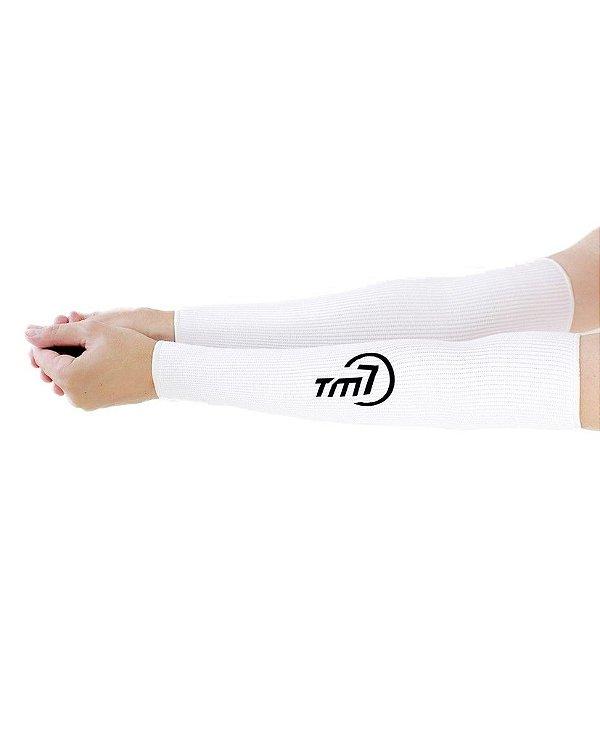 Protetor De Antebraço Longo Para Voleibol BRAC7 Branca